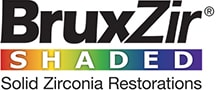 BruxZir Shaded Solid Zirconia Restorations Logo